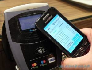 NFC tap to pay